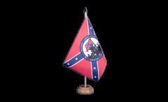 Tischflagge Großbritannien St. David - 15 x 22 cm