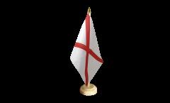 Tischflagge Großbritannien St. Patrick-Kreuz