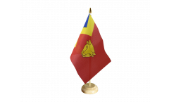 Tischflagge Großbritannien Stadt Birmingham - 15 x 22 cm