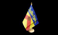 Tischflagge Großbritannien Staffordshire - 15 x 22 cm