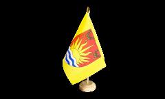 Tischflagge Großbritannien Suffolk - 15 x 22 cm