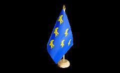 Tischflagge Großbritannien Sussex - 15 x 22 cm