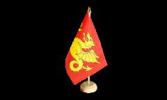 Tischflagge Großbritannien Wessex 519-927 - 15 x 22 cm