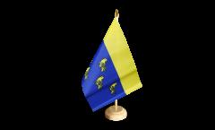 Tischflagge Großbritannien West Sussex - 15 x 22 cm