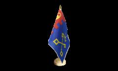 Tischflagge Großbritannien Willenhall - 15 x 22 cm