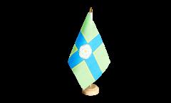 Tischflagge Großbritannien Yorkshire North Riding - 15 x 22 cm