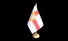 Tischflagge Großbritannien Yorkshire West Riding - 15 x 22 cm