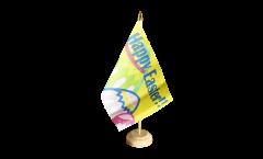 Tischflagge Happy Easter