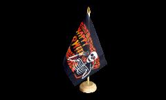 Tischflagge Happy Halloween 5 - 15 x 22 cm