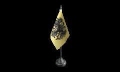 Tischflagge Heiliges Römisches Reich Deutscher Nation nach 1400 - 10 x 15 cm