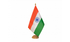 Tischflagge Indien - 15 x 22 cm