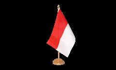 Tischflagge Indonesien - 15 x 22 cm