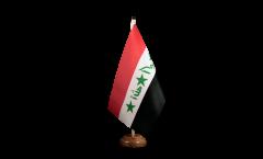Tischflagge Irak alt 1991-2004 - 15 x 22 cm