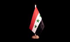 Tischflagge Irak ohne Schrift 1963-1991 - 15 x 22 cm