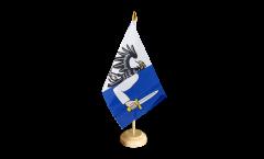 Tischflagge Irland Connacht - 10 x 15 cm