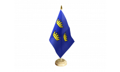 Tischflagge Irland Munster - 15 x 22 cm