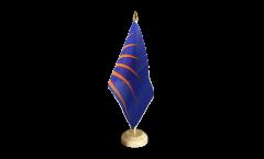 Tischflagge Irland Sunburst - 15 x 22 cm