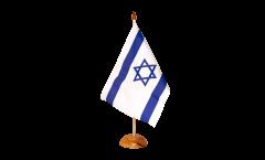 Tischflagge Israel - 15 x 22 cm
