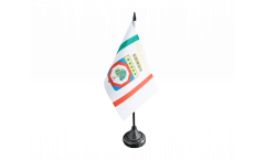 Tischflagge Italien Apulien - 10 x 15 cm