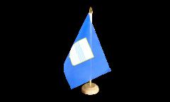 Tischflagge Italien Basilikata - 10 x 15 cm