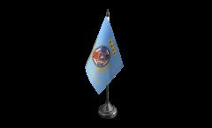 Tischflagge Italien Latium Lazio - 10 x 15 cm