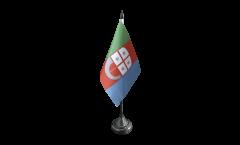 Tischflagge Italien Ligurien