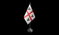 Tischflagge Italien Mantua Herzogtum 1575-1707 - 10 x 15 cm
