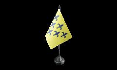 Tischflagge Italien Parma Herzogtum 1545-1860