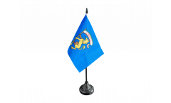 Tischflagge Italien Provinz Bologna - 10 x 15 cm