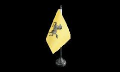 Tischflagge Italien Provinz Neapel - 10 x 15 cm