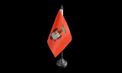 Tischflagge Italien Provinz Palermo - 10 x 15 cm