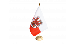 Tischflagge Italien Südtirol - 10 x 15 cm