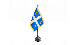 Tischflagge Italien Stadt Turin