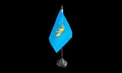 Tischflagge Italien Stadt Turin Wappen - 10 x 15 cm