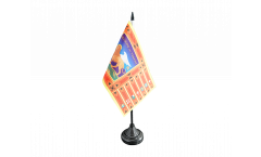 Tischflagge Italien Venetien Venezien - 10 x 15 cm