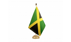 Tischflagge Jamaika - 15 x 22 cm