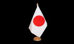 Tischflagge Japan - 10 x 15 cm
