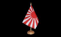 Tischflagge Japan Kriegsflagge - 15 x 22 cm