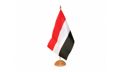 Tischflagge Jemen - 15 x 22 cm