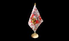 Tischflagge Just Married Tauben - 15 x 22 cm