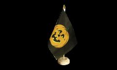 Tischflagge Kürbis