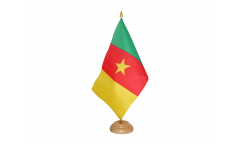 Tischflagge Kamerun - 15 x 22 cm