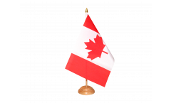 Tischflagge Kanada - 10 x 15 cm