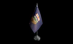 Tischflagge Kanada Alberta - 10 x 15 cm