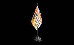 Tischflagge Kanada Britisch Kolumbien - 10 x 15 cm
