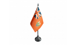 Tischflagge Kanada Manitoba - 10 x 15 cm