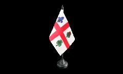 Tischflagge Kanada Montreal - 10 x 15 cm