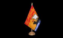 Tischflagge Kanada Neubraunschweig - 15 x 22 cm