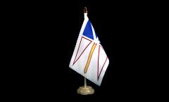 Tischflagge Kanada Neufundland und Labrador - 15 x 22 cm