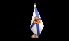 Tischflagge Kanada Neuschottland - 15 x 22 cm